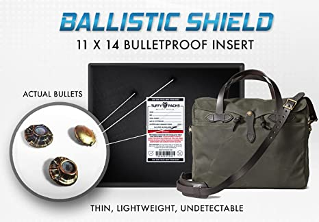 Bullet Proof Laptop Case Ballistic Shield 11x14 (150+ sq ...