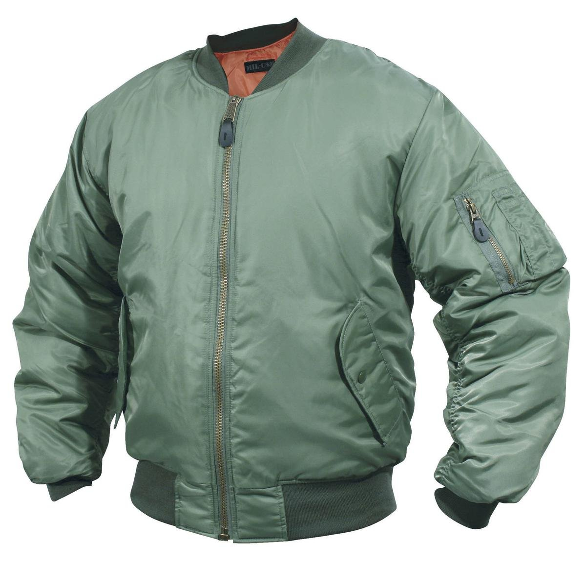 MA1 Flight Jacket - Green: Amazon.co.uk: Sports & Outdoors