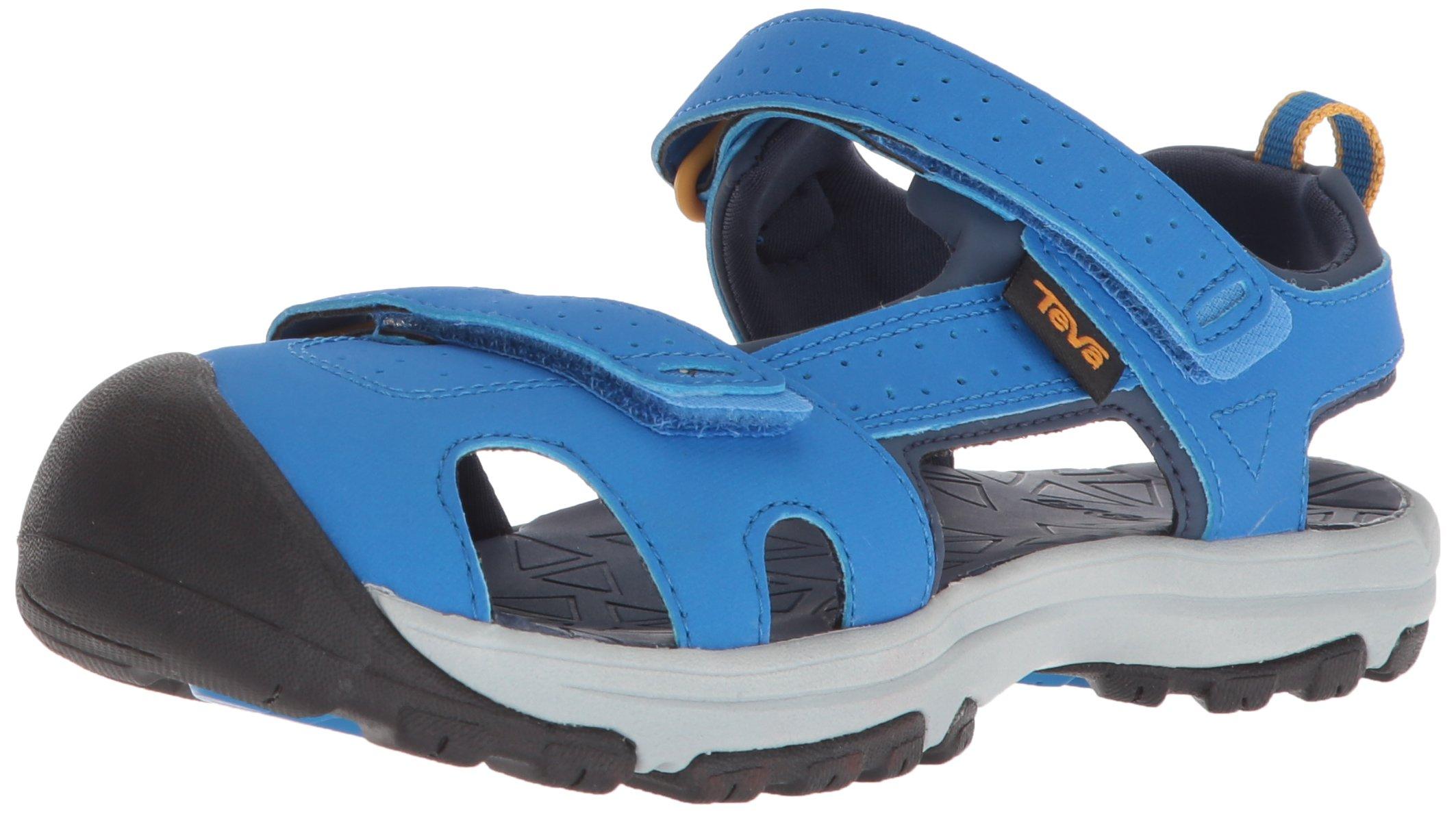 Teva Boys' K Hurricane Toe PRO Sport Sandal Dazzling Blue 12 M US Little Kid