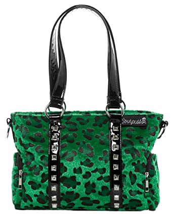 Amazon.com: Sourpuss Leopard Mini Leda - Monedero de billete ...
