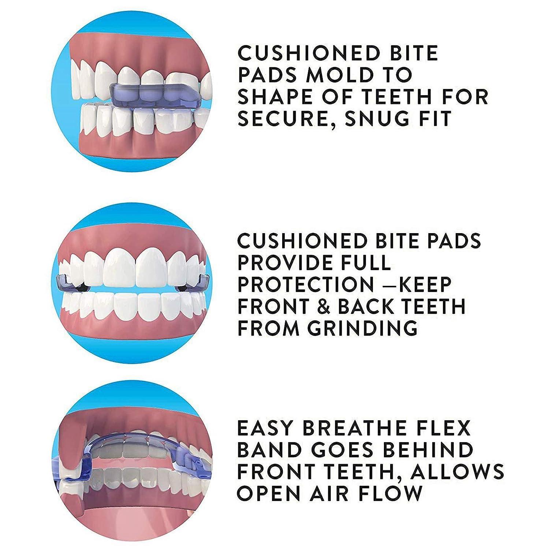 professionelle zahn/ärztliche Mundsch/ützer zum Z/ähneknirschen Sleeping Clenching Tooth Protector Tool KEENSO Dental Guard