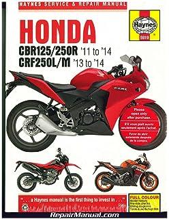 H5919 Honda CBR125/250R 2011-2014 CRF250L/M 2013-2014 Haynes Repair