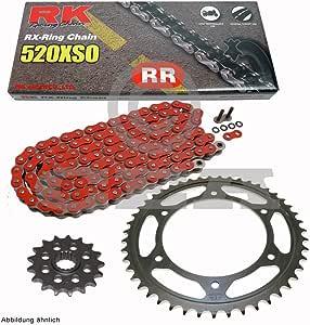 Cadena de Honda TRX 450 R sporttrax 04 – 05, cadena RK RR 520 ...