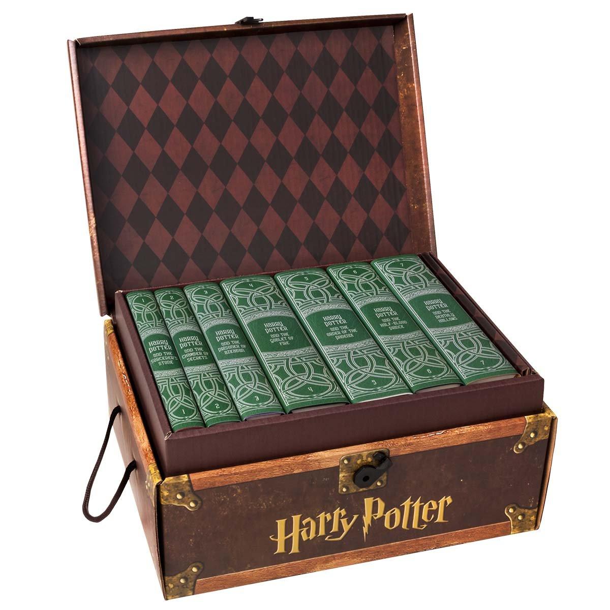 Harry Potter House Trunk Sets (Slytherin Set) by Juniper Books
