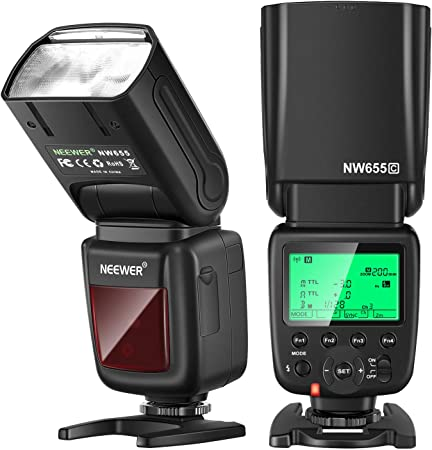 Neewer Nw655 C 2 4g Hss 1 8000s Ttl Gn58 Wireless Kamera