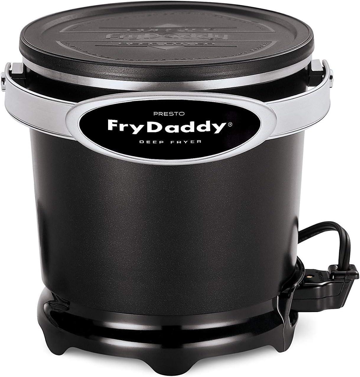 Presto 05420 FryDaddy Electric Deep Fryer 4 Pack 4 cups