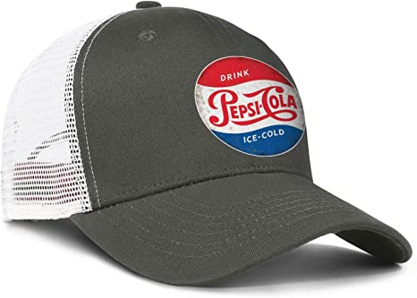 Amazon.com: Unisex Vintage Cola Ice-Cold Hat Pretty Trucker Hat Baseball  Cap Adjustable Cap: Clothing