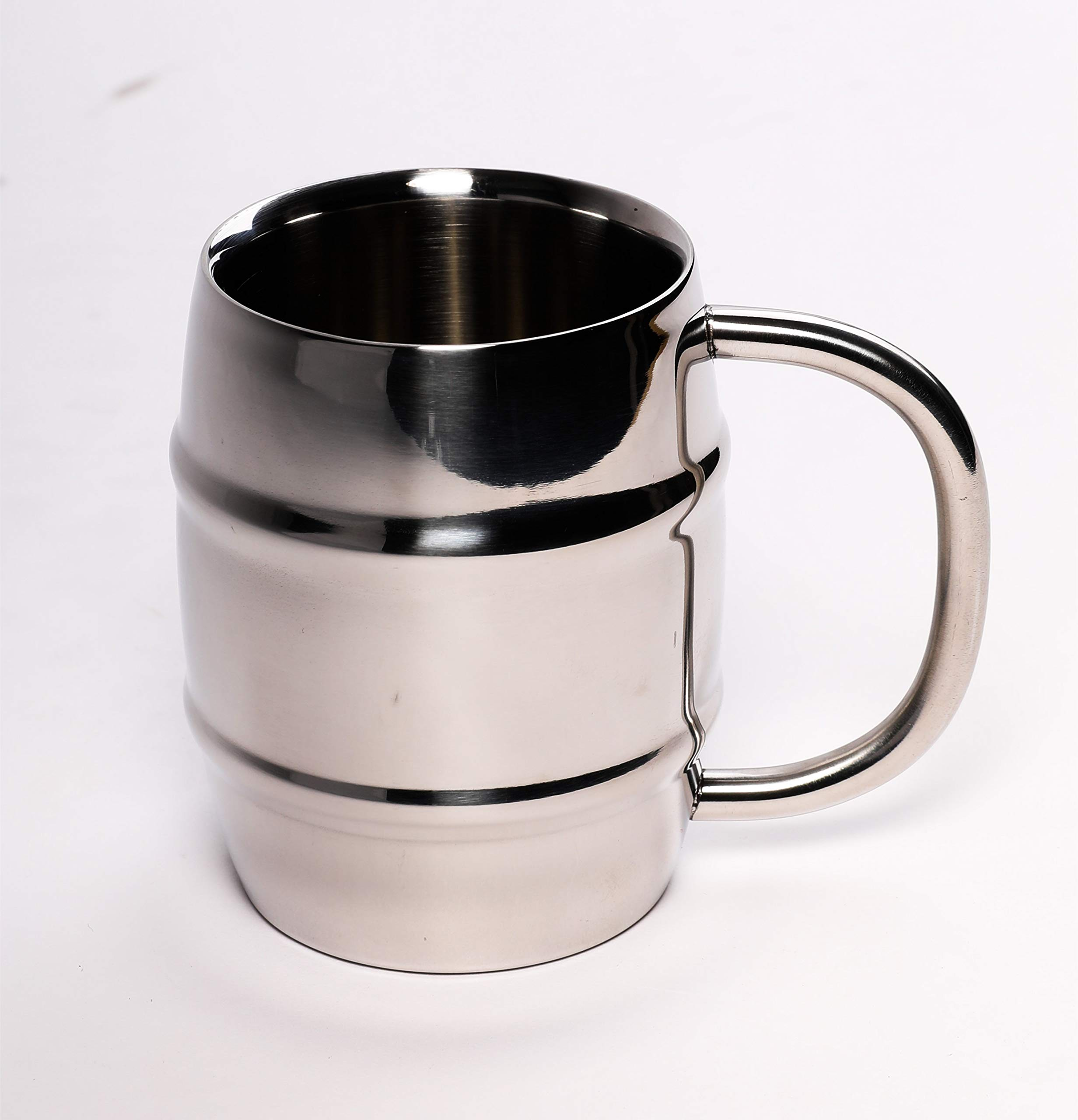 ANVENTI Double Wall Stainless Steel Insulated Coffee Mug (silver) A-CM-S300ML-2 300ml10oz 2PCS/CASE