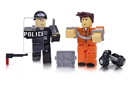 Amazoncom Roblox Prison Life Game Pack Toys Games