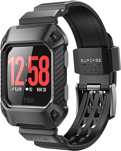 Amazon.com: Fitbit Ionic bandas de reloj con funda ...