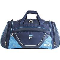Fila Acer Large Sport Duffel Bag, Navy/Blue, One Size
