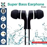 Zoyo In-Ear Headphone With Mic Super Extra Bass - Black