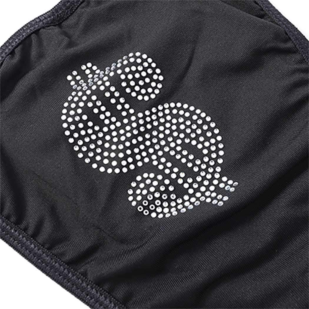 Fstrend Glitter Crystal Swimsuit Bikini Bra Panties Sets Black Sparkly Rhinestone Summer Beach Clubwear Rave Party Festival Body Suit for Women and Girls