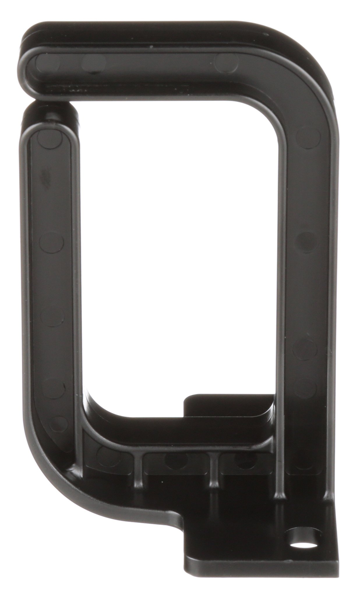 Panduit CMVDR1 Vertical Cable Management D-Ring, 1-Inch Wide, Black