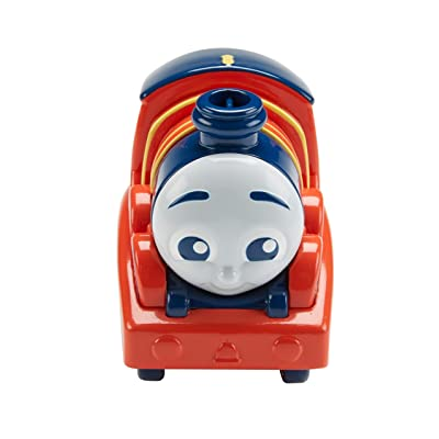 Thomas & Friends Fisher-Price My First, Push Along James: Toys & Games