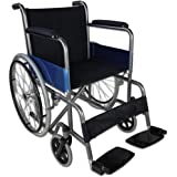 Sedia a rotelle pieghevole | Carrozzina disabili | Acciaio | Alcázar | Mobiclinic