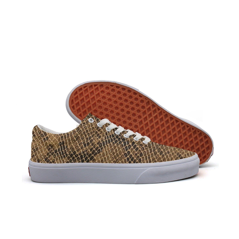 SERXO Cobra Snake Skin Casual Shoes Skateboard Slip News Vegan