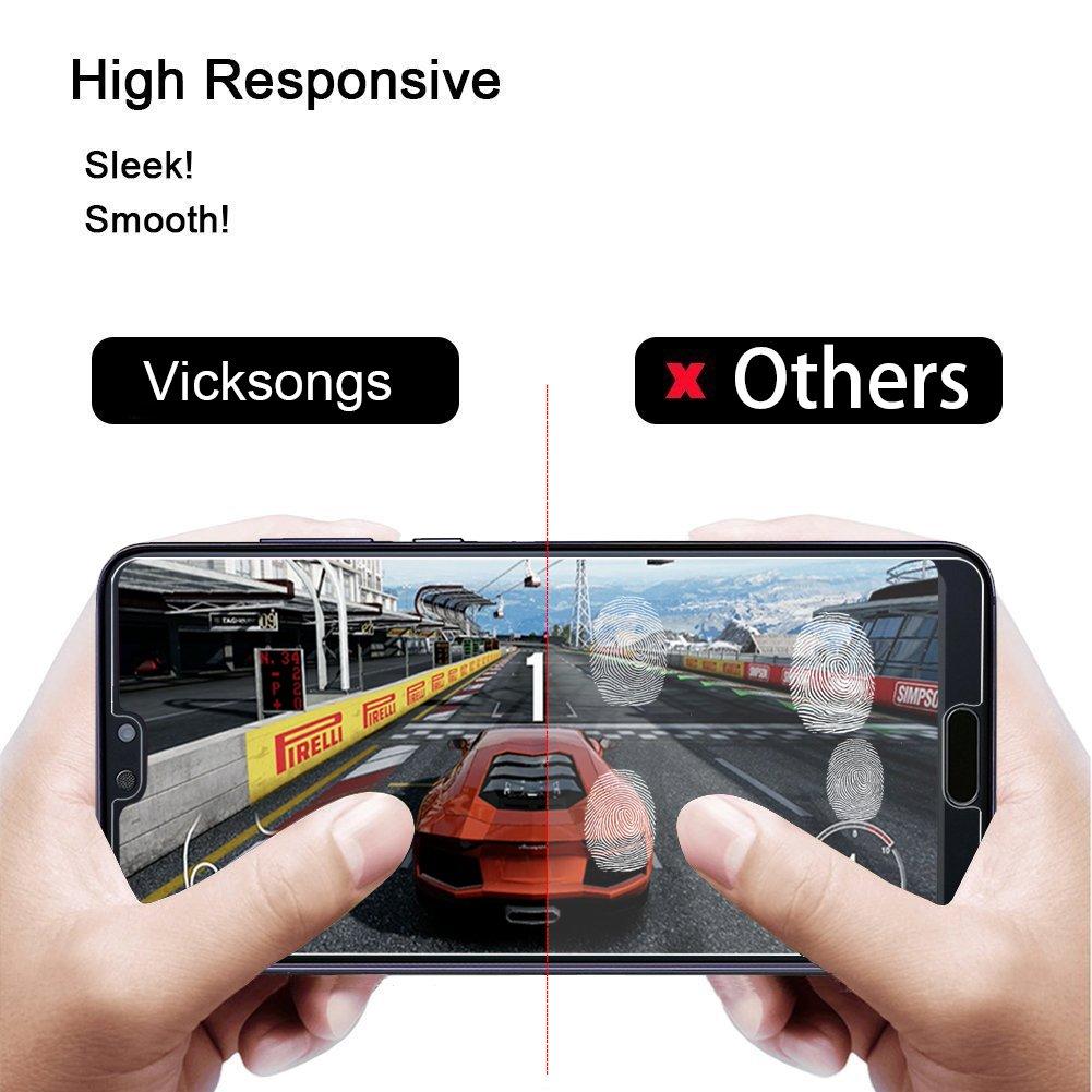 VICKSONGS Protector de Pantalla para Huawei P20 Pro, [3 Pack] Trasparente Suave Film [NO Cristal Templado] Screen Protector para Huawei P20 Pro: Amazon.es: ...