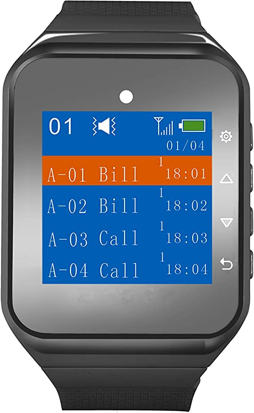 Amazon Com Calltou Caregiver Pager Wireless Smart Call Button Nurse Calling Alert Vibration For Elderly Patient Disable At Home 1 Receiver Wrist Pager 2 Pendant Portable Fixed Sos Call Buttons 500 Feet Electronics
