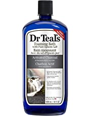 Dr Teal's Activated Charcoal Foaming Bath, 1000 Milliliters