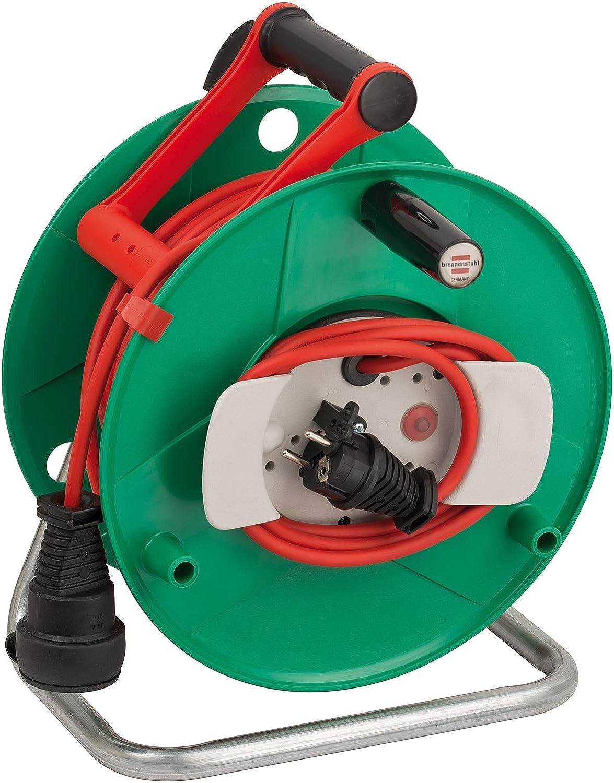 Brennenstuhl 1188470 Garant G - Carrete alargador de cable para ...