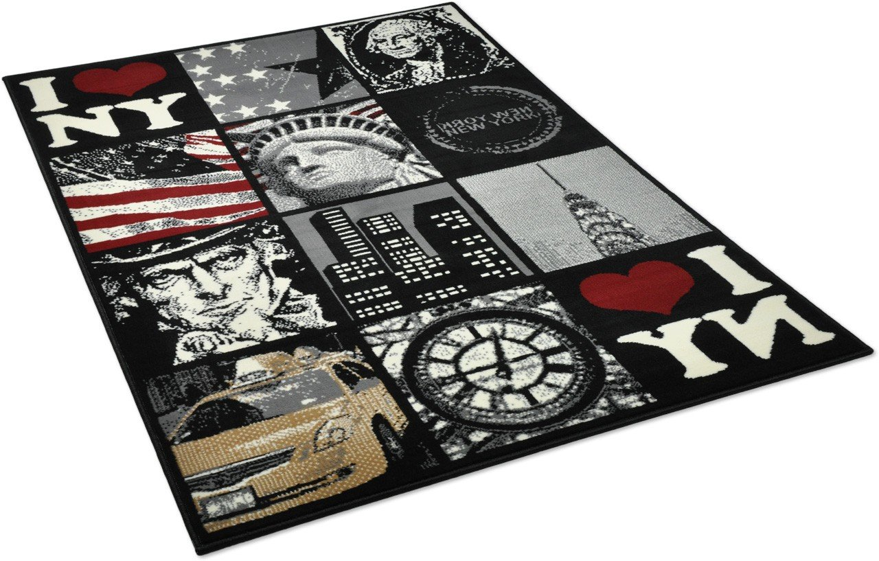 superb tapis chambre new york 11 carrelage design tapis rouge et gris moderne design. Black Bedroom Furniture Sets. Home Design Ideas