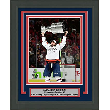 d229e5ccb Image Unavailable. Image not available for. Color  Framed Alexander Alex  Ovechkin Washington Capitals Team 2018 Stanley Cup Champions ...
