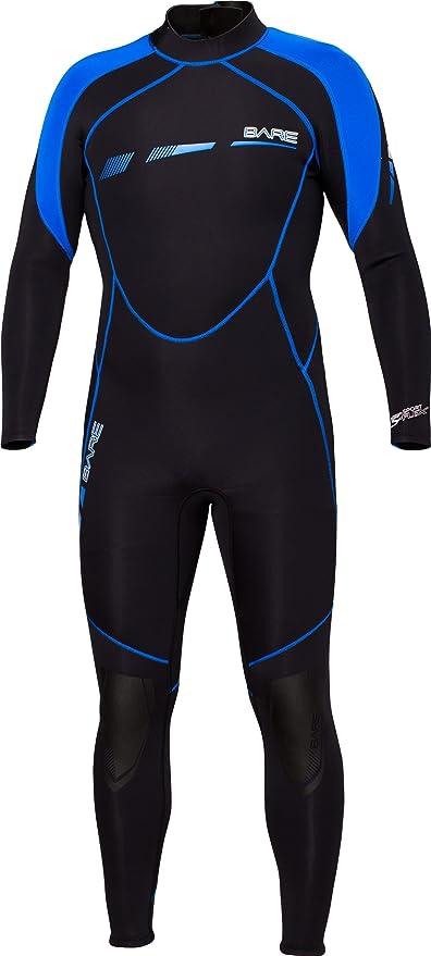 44e50c2583 Amazon.com   Bare Sport S-Flex 3 2MM Stretch Neoprene Wetsuit ...