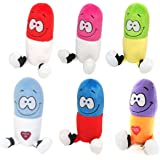 Just For Laughs Happy Pill Giggling Plush 6-Pack