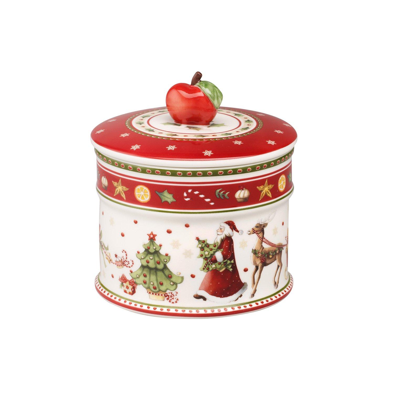 Villeroy & Boch 1486124520 - Caja de porcelana para pastas con diseño de Navidad, 12 x 11 cm Villeroy & Boch AG