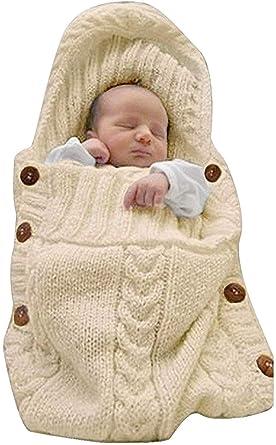 Newborn Baby Organic Cotton Blanket Swaddle Sleeping Bag Sleepsack Stroller Wrap