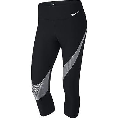 e0992d2befc Nike Womens Power Fitness Yoga Athletic Leggings Black XS at Amazon Women s  Clothing store