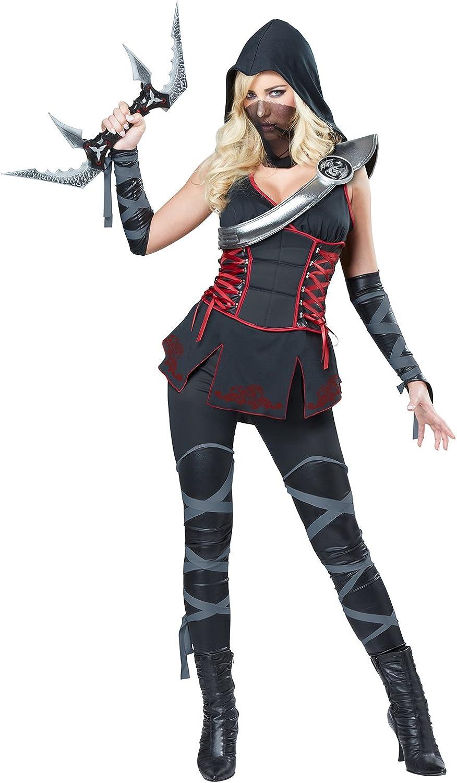 Disfraz de Ninja para adulto, color negro: Amazon.es: Juguetes y ...