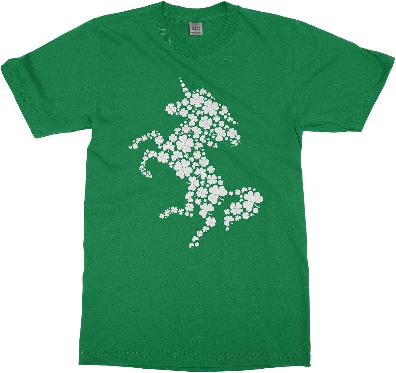 Patricks Day Unicorn Face Short-Sleeve T-Shirt Baby Boys St