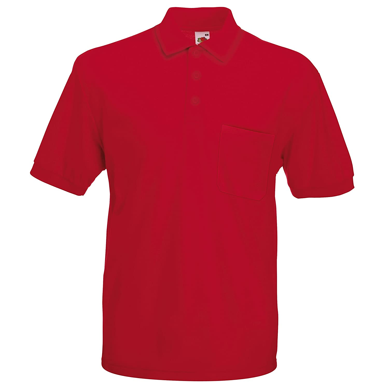 Fruit of the Loom Pocket Polo Shirt