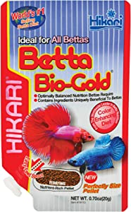 Hikari Tropical Betta Bio-Gold Fish Food, 0.70 oz (20g)