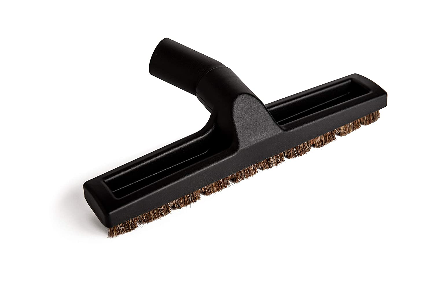 Green Label for Bosch and Miele Vacuum Cleaners Deluxe Brush for Hard Floors with Horsehair Bristles