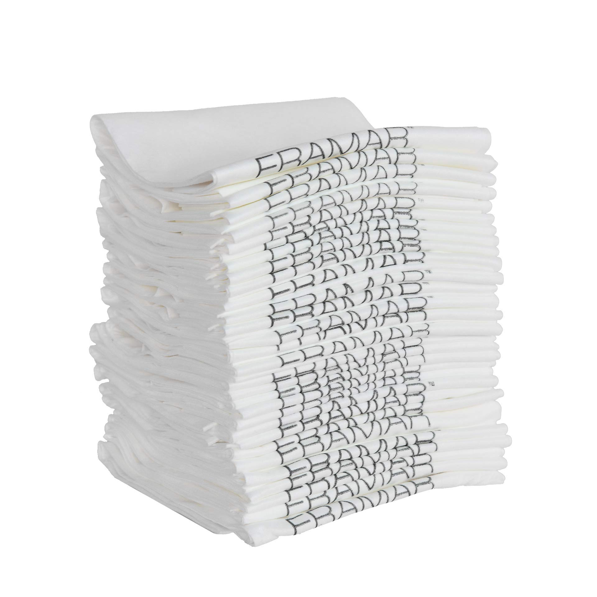 Framar Dry & Byeee Disposable Hair Salon Towels 50 pcs - Rapid Dry Towels - Hygienic, Ecofriendly - Nails Supply, Hand Towels, White Towels - Biodegradable - 50 Count by FRAMAR