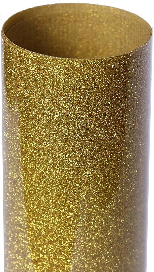 hoho sintética Sparkle Glitter papel de vinilo de prensa de ...