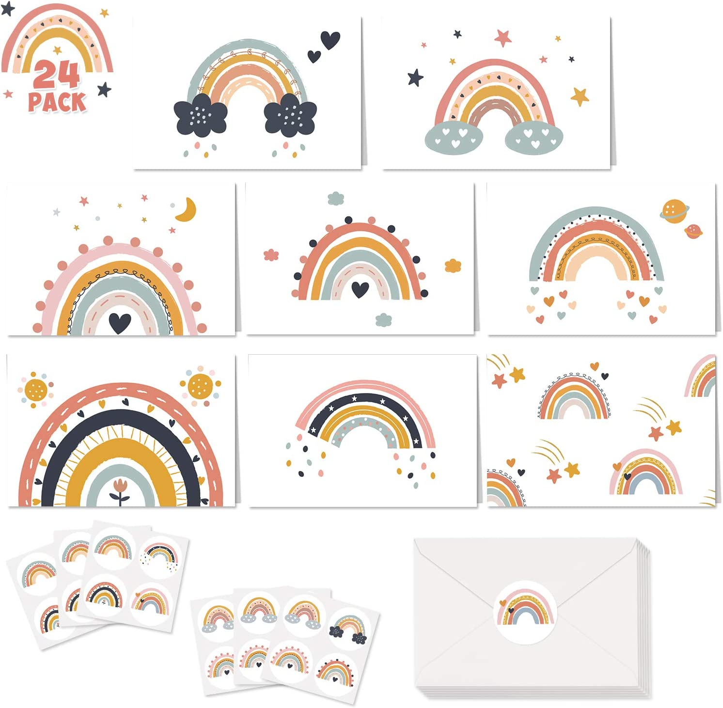 Boho Rainbow Muted Rainbow Party Boho Rainbow Party Supplies Bohemian Rainbow Muted Rainbow Favors Boho Muted Rainbow Applesauce