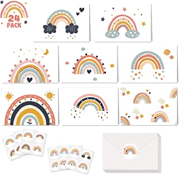 baby showers or any other occasion. 5 Blank Note Cards are great for birthdays
