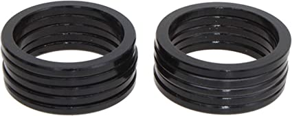 "Vuelta Headset Spacer 1/"" X 5mm Black 10//Bag"