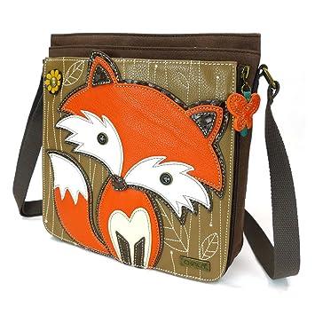 0b73673fdb1 Chala Deluxe Messenger Bag - Fox Dark Brown