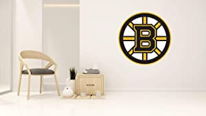 "Hockey Team BB Logo - Wall Decal for Home Bedroom Hall Decoration (Wide 20""x20"" Height Inches)"