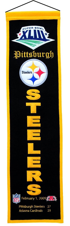 NFL Pittsburgh Steelers Super Bowl XLIIIバナー   B001R3KXLA, ミツボシ雑貨店 e7ecd2b9