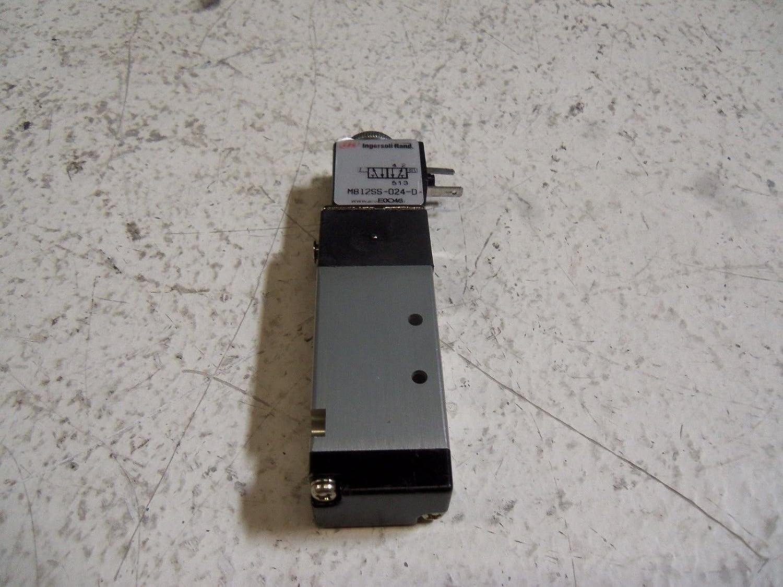 ARO M812SS-024-D Solenoid Air Control Valve,1//8 In.,24VDC