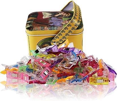 Wonder Clips-Pack de 100 clips de costura multiuso Accesorios de ...