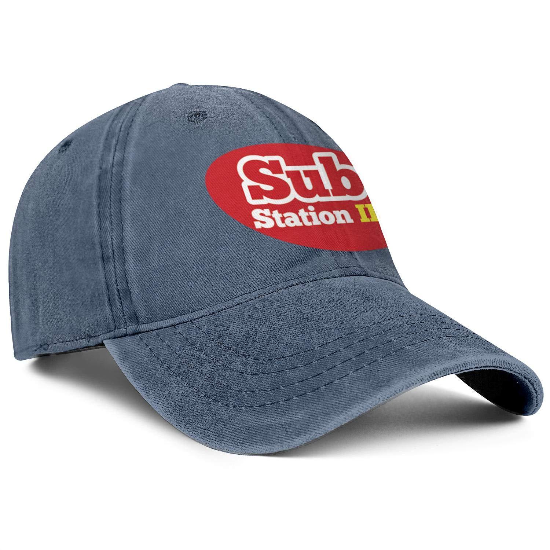 Wudo Unisex Logo-Sub Station II Hat Pretty Trucker Hat Baseball Cap Adjustable Cowboy Hat