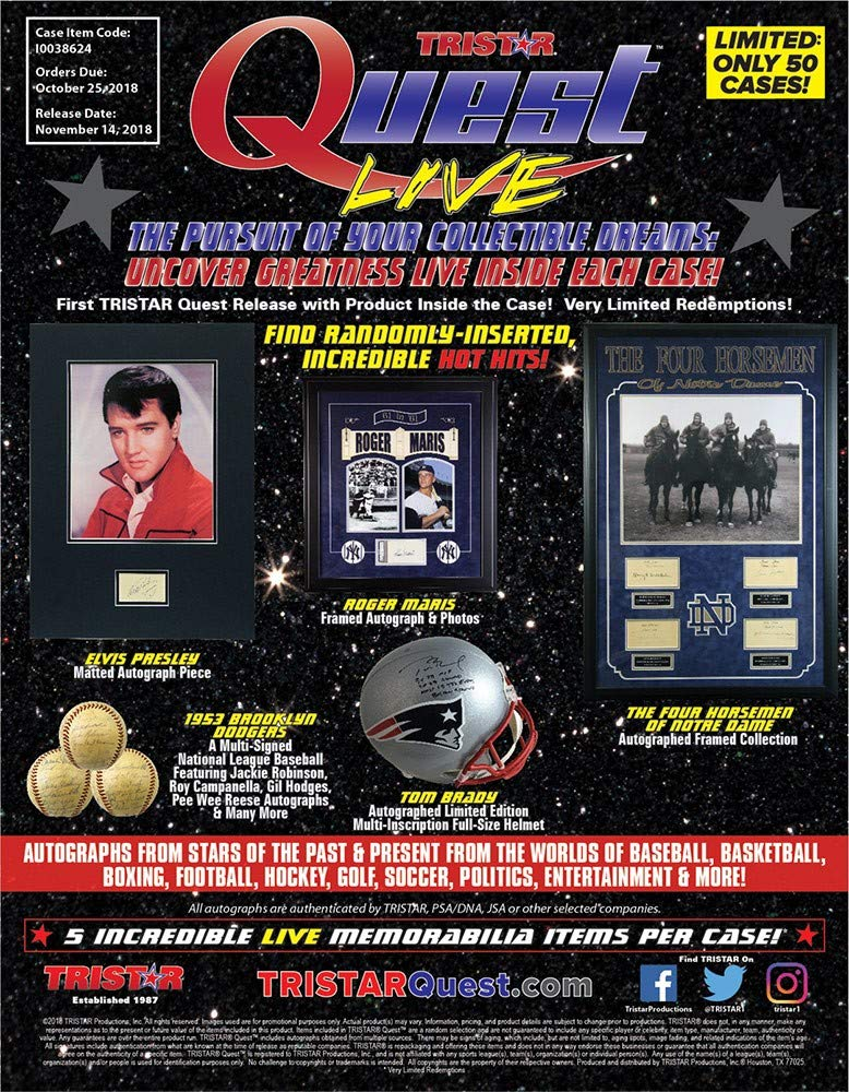 2018 Tristar Quest Live Hobby 5-Hit Case