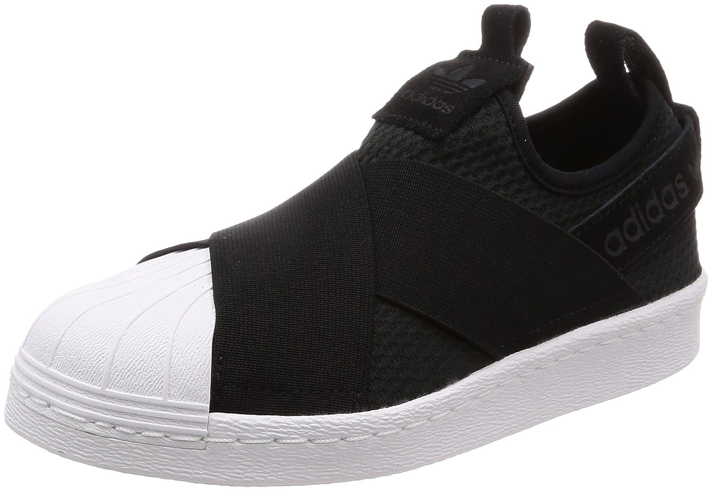 Adidas Superstar Slip On W, Zapatillas de Gimnasia para Mujer 37 1/3 EU|Negro (Core Black/Core Black/Footwear White 0)